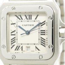 Cartier Santos Galbee Steel Quartz Mens Watch W20060d6 Bf304311
