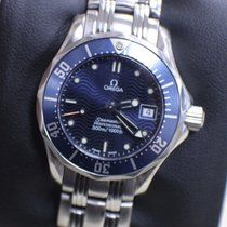 Omega Ladies Seamaster 2583.80.00 Professional Steel Blue Dial
