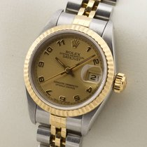 Rolex Lady Datejust Edelstahl 18K Gold Gelbgold Automatic...