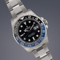 Rolex GMT-Master II BATMAN stainless steel Oyster Perpetual UK...