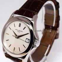 Patek Calatrava 5107 18k White Gold Mens Automatic Watch &...