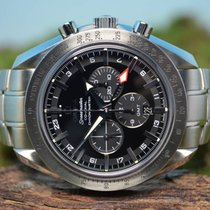Omega Speedmaster Co-Axial Broad Arrow GMT Chronograph von 2017