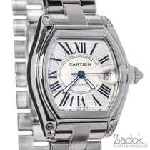 Cartier Roadster Large Automatic Watch Silver Dial W62025V3...