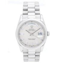 Rolex President Day-Date Platinum Men's Watch 118206...