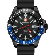 Swiss Military Cx Swiss Military Gmt Nero Scuba Swiss Watch...