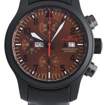 Fortis B-42 Aeromaster Dusk Automatic Chrono Day/Date Mens...