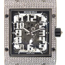 Richard Mille RM016-AJ WG White Gold Black Automatic Arabic