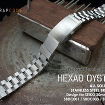 MiLTAT Hexad Oyster Band for Seiko Sumo SBDC001, Rachet