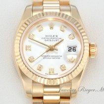 Rolex Datejust 179178 Gelbgold 750 Diamanten Lady Date Just