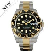 Rolex GMT Master II Gold/Steel 116713LN NEW