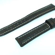 Breitling Band 15mm Hai Schwarz Black Shark Strap Correa Für...