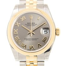 勞力士 (Rolex) Datejust Gold And Steel Gray Automatic 178243GYRN_J