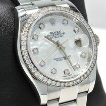 Rolex Datejust 116244 36mm Factory Mop Diamond Dial &...