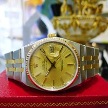 Rolex Oyster Quartz Datejust 18k Yellow Gold & Stainless...