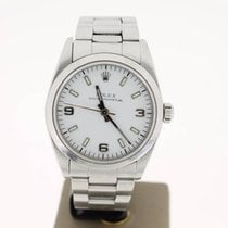 Rolex Oyster Perpetual 31mm Steel WhiteDial (B&P2000) MINT