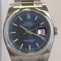 Rolex Datejust 36 mm Ref. 116200 Blau Index