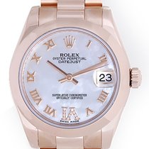 Rolex Lady Rose Gold Midsize President 31mm Ladies Watch 178245