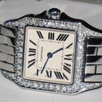 Cartier Santos Demoiselle Midsize Diamonds
