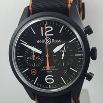 Bell & Ross BR 126 CARBON ORANGE BRV126-O-CA