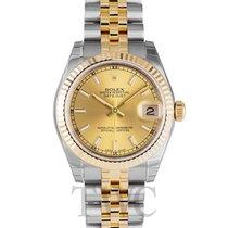 ロレックス (Rolex) Datejust Midsize Gold colored/18k gold Ø31mm -...
