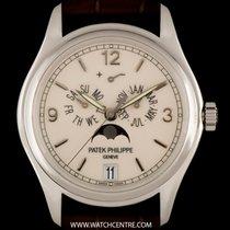 Πατέκ Φιλίπ (Patek Philippe) 18k White Gold Cream Enamel Dial...