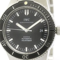 IWC Polished Iwc Aquatimer Gst 2000 Steel Automatic Mens Watch...