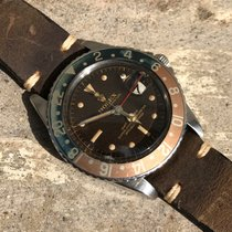Rolex Tropical GMT 1675, Gilt Dial, Exclamation, PCG, Chapter...
