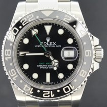 Rolex GMT-Master II Steel, Ceramic Bezel, Full Set 2012 MINT