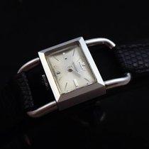 Jaeger-LeCoultre Vintage Hermes Lady Etrier Steel