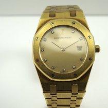 Audemars Piguet Royal Oak 18k yellow gold diamond dial