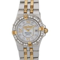 Breitling Starliner Two Tone Diamond Ladies Watch – B7134053/A680