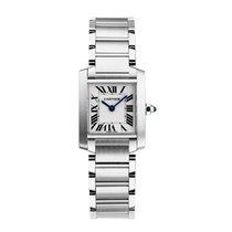 Cartier Tank Francaise Quartz Ladies Watch Ref W51008Q3