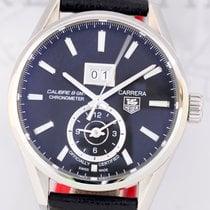 TAG Heuer Carrera GMT Calibre 8 41mm Big Date Black dial B+P...
