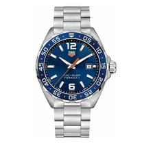 TAG Heuer Formula 1 43mm Date Quartz Mens Watch Ref WAZ1010.BA...