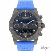 Breitling B55 Exospace Black Titanium / Black / TwinPro Blue NEW
