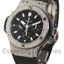 Hublot 301.SX.1170.RX.1704 Big Bang 44mm in Steel with Diamond...