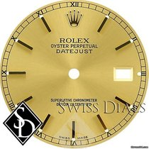 Rolex Datejust Champagne Stick Marker Swiss Made Dial Two-Tone
