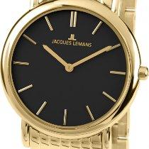 Jacques Lemans Vienna 1-1371M Damenarmbanduhr flach & leicht