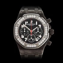オーデマ・ピゲ (Audemars Piguet) Royal Oak Offshore Carbon Ladies...