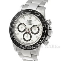Rolex Cosmograph Daytona White Ceramic Bezel Steel 40MM...