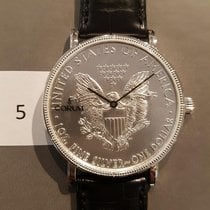 Corum Coin Watch Silver