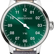 Meistersinger No 02 AM6609N Elegante Herrenuhr Zeitloses Design