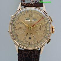 Leonidas Vollkalender Chronograph 18k/ 750 Rosegold