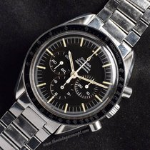 Omega Speedmaster 861 Metal Logo Tropical Dial Chronograph