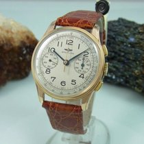 Breitling 782 Premier Chronograph 750 / 18k Gold Herrenuhr...