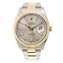 勞力士 (Rolex) Datejust Gold And Steel Silver Automatic 126333SV_O