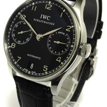 IWC Portugieser Automatik Chronograph 7 Tage Power Reserve Iw5007