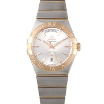 Omega Constellation Day-Date Co-Axial 38mm Watch 123.25.38.22....