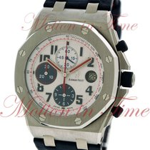 Audemars Piguet Royal Oak Offshore Tour Auto 2012, White Dial,...