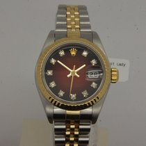 Rolex Lady Datejust Stahl/Gold Diamantblatt 79173
